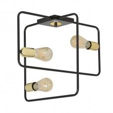 Потолочный светильник Savi 3 Black&Gold