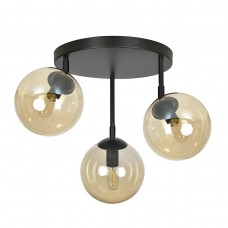 Потолочный светильник Tofy 3 Amber Round