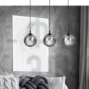 Підвісний світильник Cosmo 3 Grafit