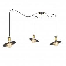 Подвесной светильник Kluno 3 Black