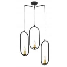 Подвесной светильник Pante 3 Black Е14