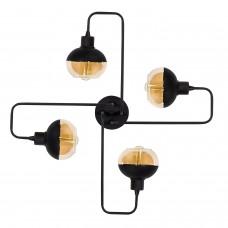 Потолочный светильник Ania 4 Black