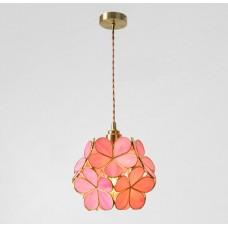Подвесной светильник Scandinavian Floral Pink