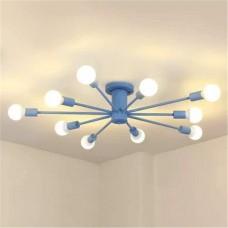 Потолочный светильник Colorful Nordic 10 Blue