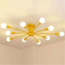 Потолочный светильник Colorful Nordic 10 Yellow