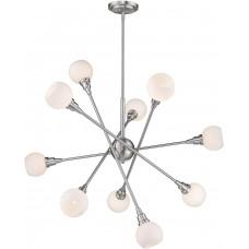 Люстра Contemporary Sputnik 10 Nickel
