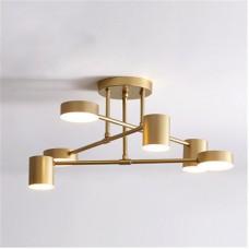 Люстра LED Fashion 6 Gold