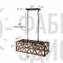Подвесной светильник Metal and Wood