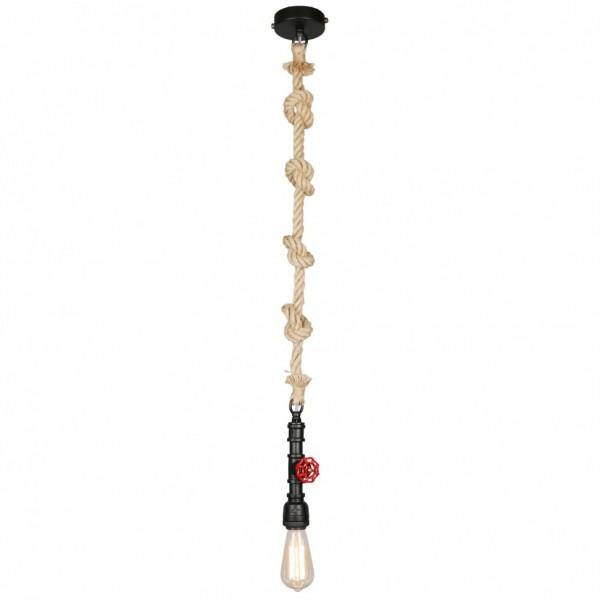 Подвесной светильник на канате