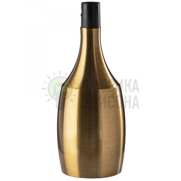 Декоративний патрон BOTTLE GOLD