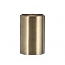 Металличекая накладка для цоколя Е-27  Cylinder Bronze