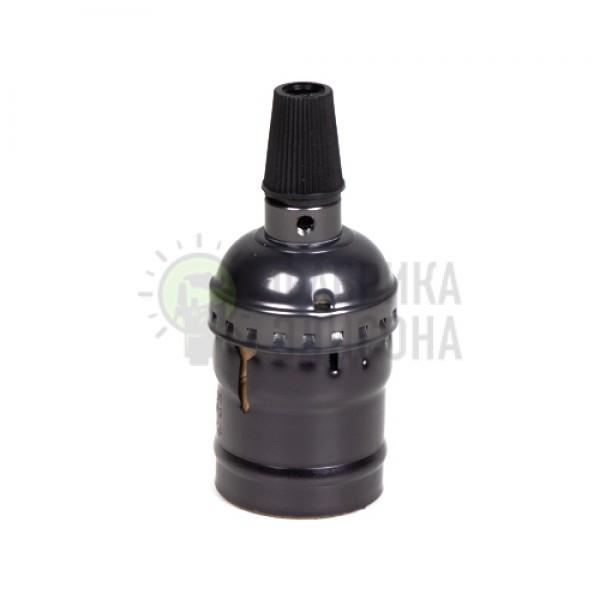 Алюминиевый патрон Черный
