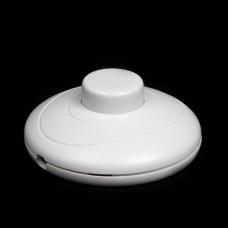 Вимикач ножний нажімной ( кнопка ) для торшерів білого кольору