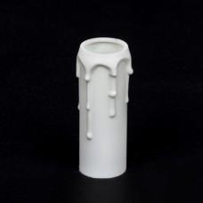 Патрон оплившая свічка Е14 білий