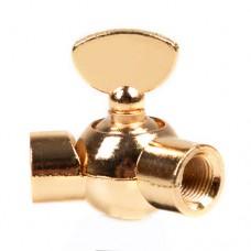 Поворотний шарнір з затискачем золото