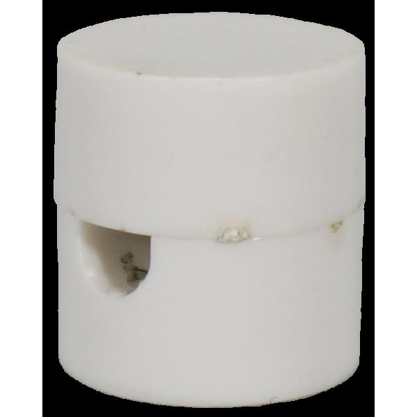 Пластиковый потолочный крепеж провода Белый