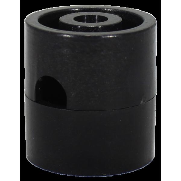 Пластиковый потолочный крепеж провода Черный