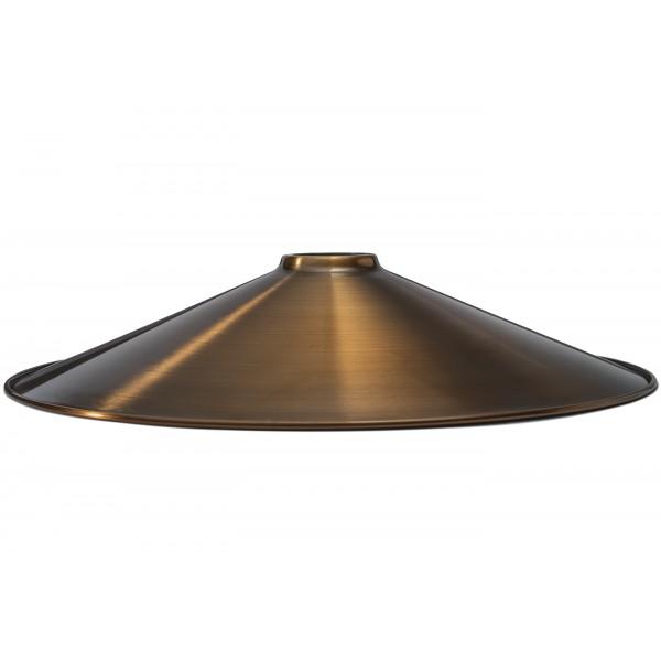 Сталевий абажур Loft Bronze 360
