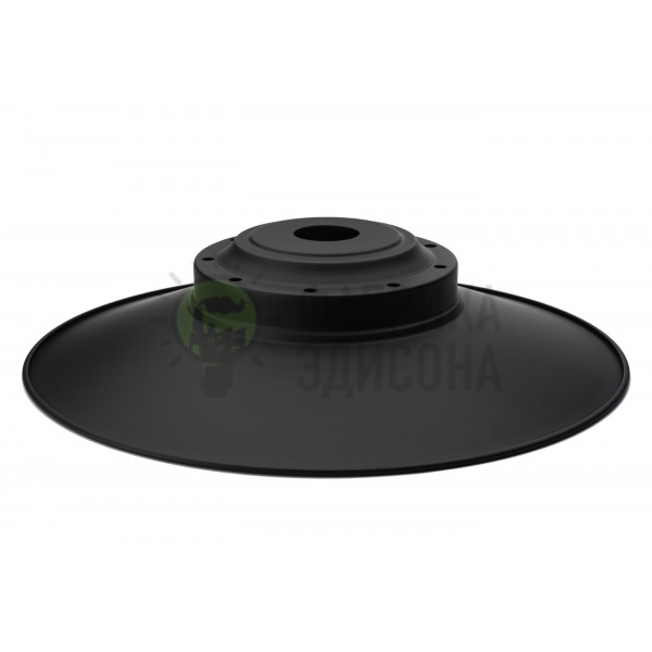 Стальной абажур Loft Industrial Black 390