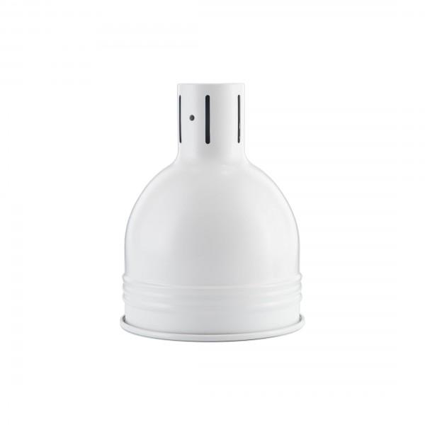 Сталевий абажур Dome White