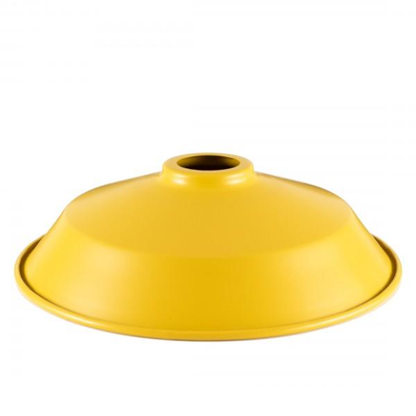 Сталевий абажур Dish Yellow