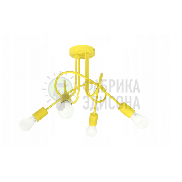 Люстра Oksford 4 Yellow