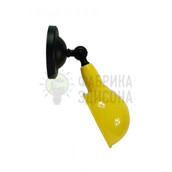 Настенное бра Желтая Черепаха в стиле лофт