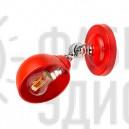 Бра в скандинавському стилі Colorful Turtle (RED) червоного кольору