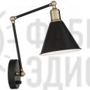Настінний світильник Wray Black