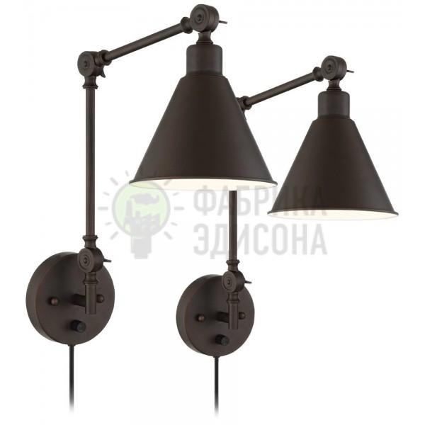 Настенный светильник Wray Bronze