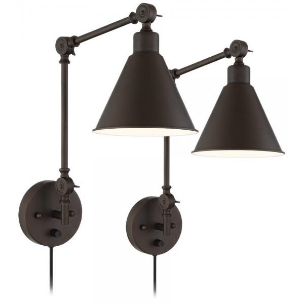 Настінний світильник Wray Bronze