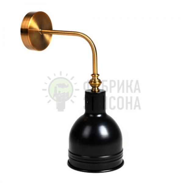 Настінний світильник Gold & amp; Black
