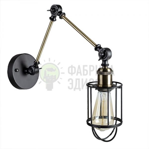 Настенный светильник Edison Cage