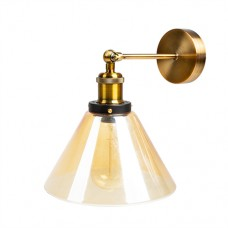 Настенный светильник Amber Glass Cone