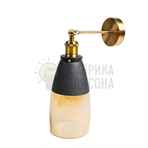 Настінний світильник Metal & amp; Glass Cylinder