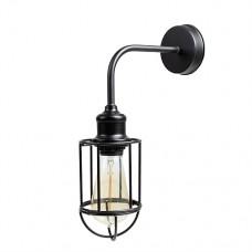 Настенный светильник Black Edison Cage