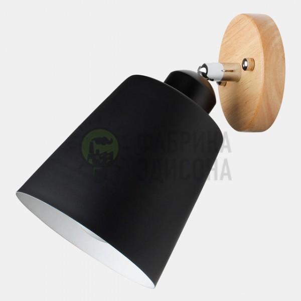 Настінний світильник Flevel Cylinder Black