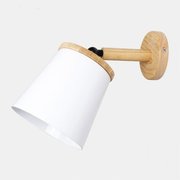 Настенный светильник Metal&Wood White
