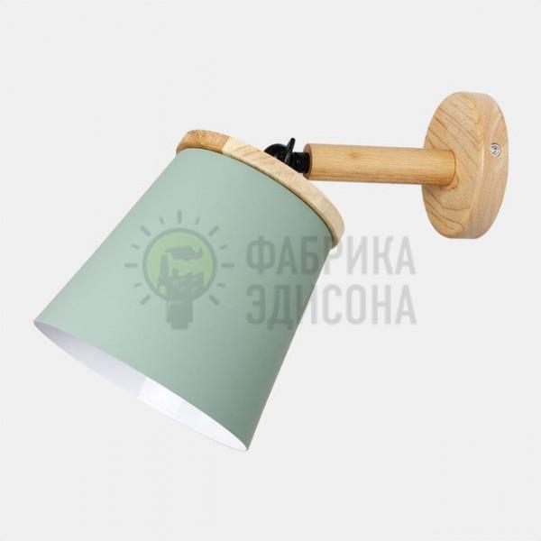 Настінний світильник Metal&Wood Green