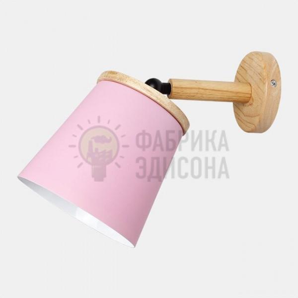 Настінний світильник Metal&Wood Pink