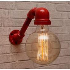Настенный светильник из труб Simpl Red