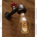 Настінний світильник з труб Valvo Bronze