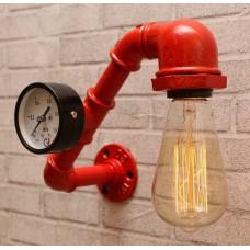 Настенный светильник из труб Mezury Red