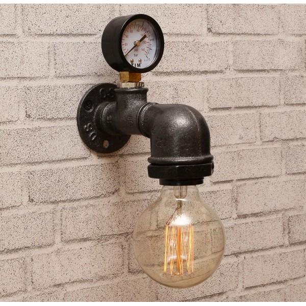 Настінний світильник Hydrant 14 Black