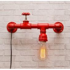 Настенный светильник из труб Peni Red