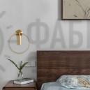 Настінний світильник Midos Brass Big
