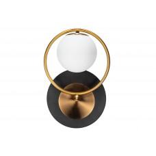 Настенный светильник Bolo Black&Gold