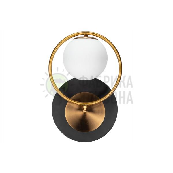 Настінний світильник Bolo Black&Gold