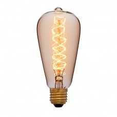 Лампа Эдисона ST64 спираль