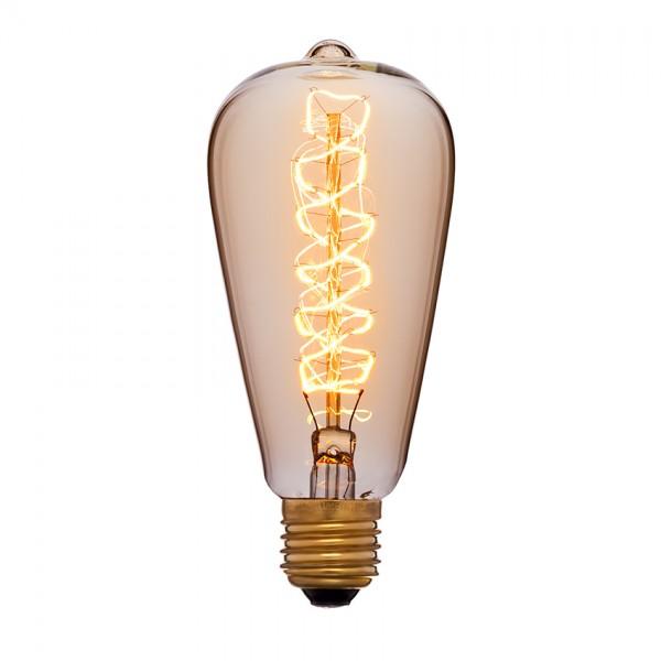 Лампа Едісона ST64 спіраль